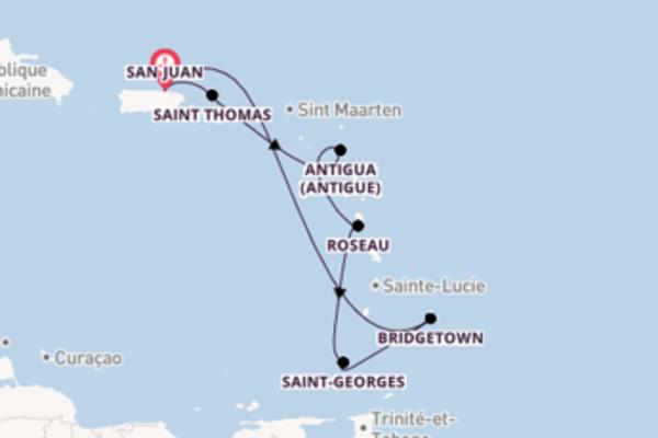 Croisière de 8 jours depuis San Juan avec Carnival Cruise Lines