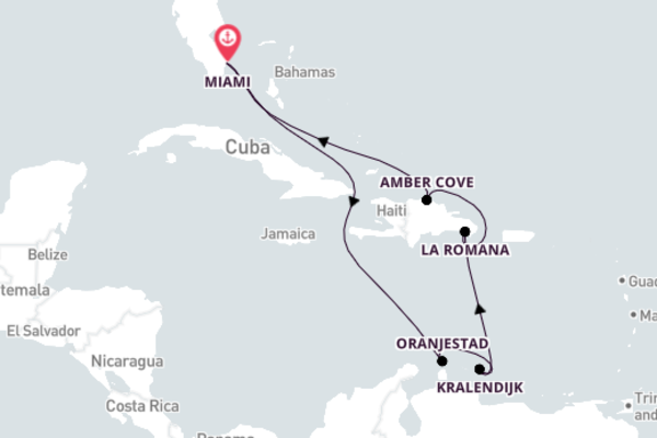 Historic Kralendijk Trip with Carnival Cruise Lines