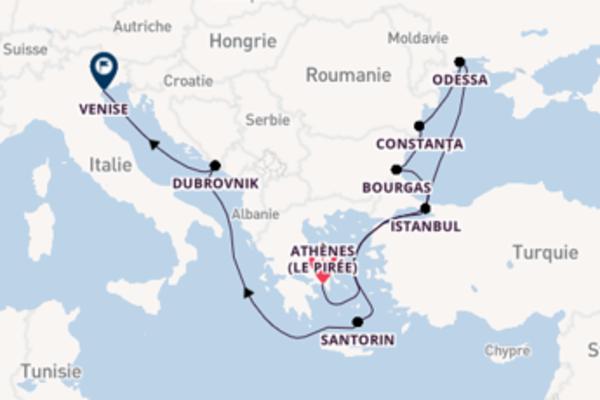 Élégante croisière avec Crystal Cruises pendant 13 jours