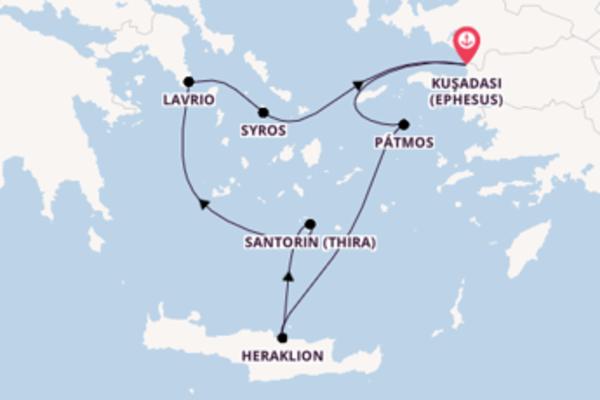 Zauberhafte Reise ab Kuşadası (Ephesus)