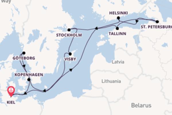 Göteborg beleven met de Mein Schiff 6