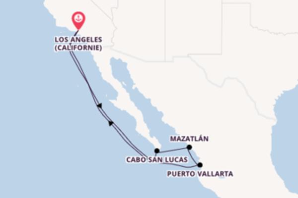 Croisière de 9 jours depuis Los Angeles (Californie) avec Carnival Cruise Lines