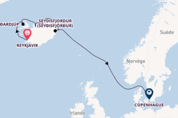 Étonnante virée de 10 jours depuis Reykjavik