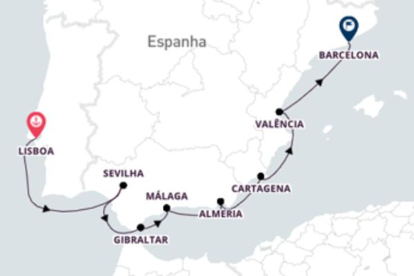 Navegue a bordo do Azamara Journey em 11 dias