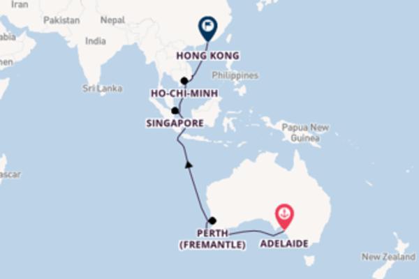 Lasciati affascinare da Perth (Fremantle) partendo da Adelaide