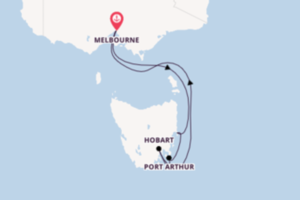 Cruising from Melbourne with the Sapphire Princess