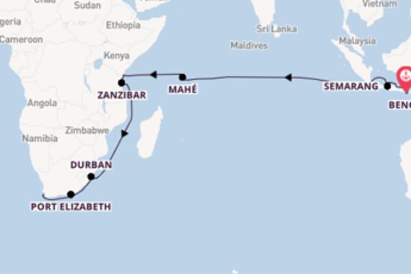 Vaar langs het sfeervolle Zanzibar