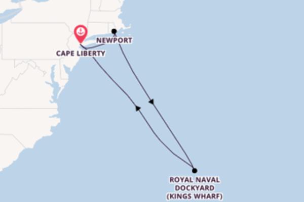 Atemberaubende Reise über Newport in 8 Tagen