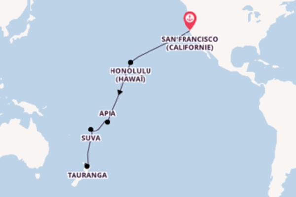 Élégante balade de 18 jours pour découvrir Tauranga