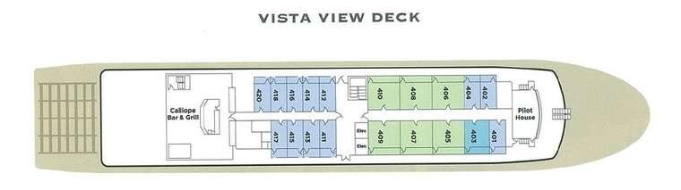 American Empress Vista View Deck