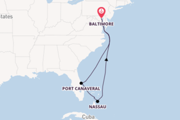 Sail with Royal Caribbean from Baltimore, Maryland