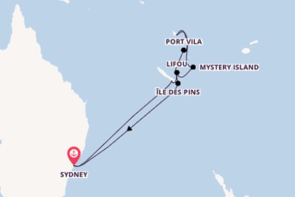 In 14 dagen naar Sydney