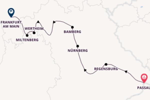 Donau Main Kombination