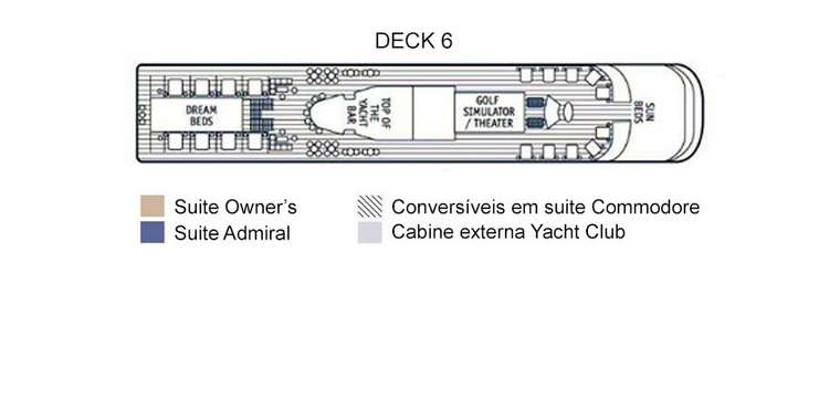 SeaDream I Deck 6