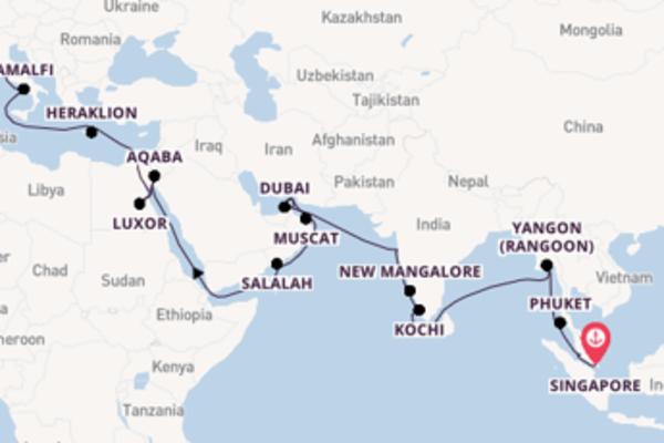 New Mangalore beleven met de Nautica