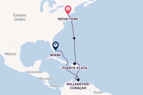 Fantástico passeio de 12 dias até Miami