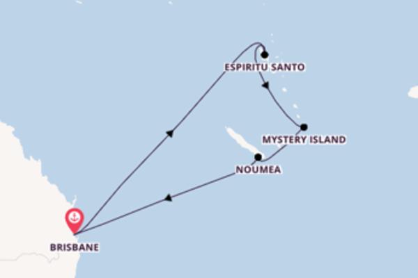 Crociera da Brisbane verso Mystery Island