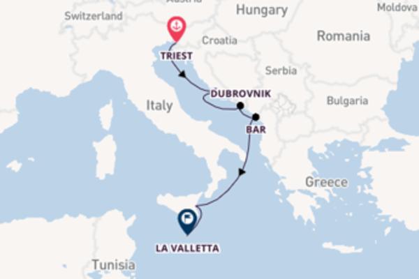 8-daagse cruise vanaf Triest