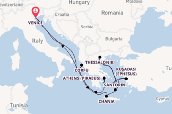 Journey from Venice with the Celebrity Infinity