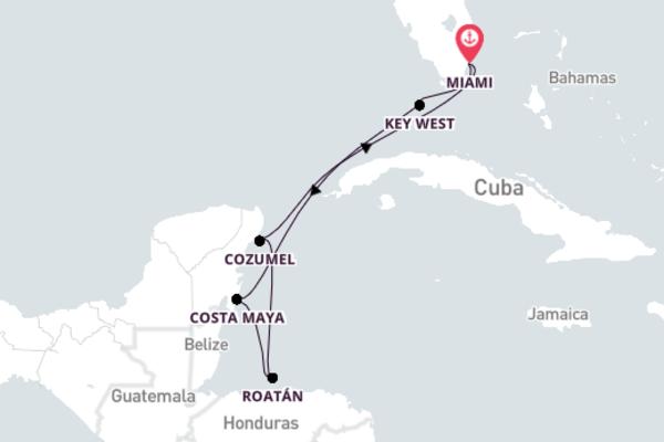 8-Day Trip to Glorious Cozumel