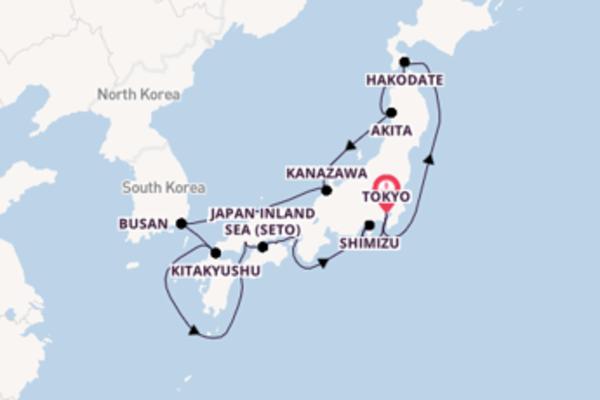Cruising from Tokyo with the Azamara Journey
