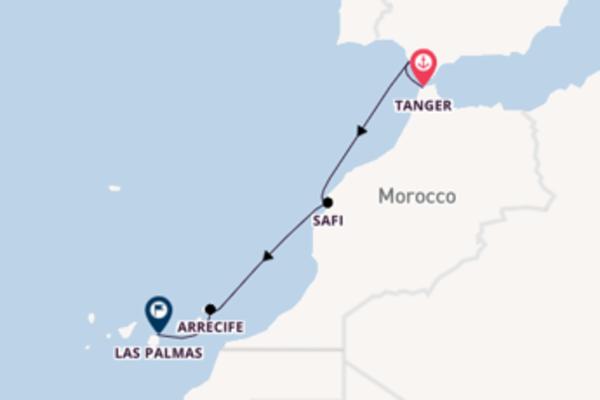 8-daagse cruise naar Cádiz, Spanje
