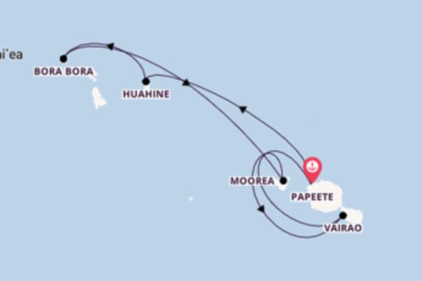 Inoubliable balade de 8 jours à bord du bateau Paul Gauguin