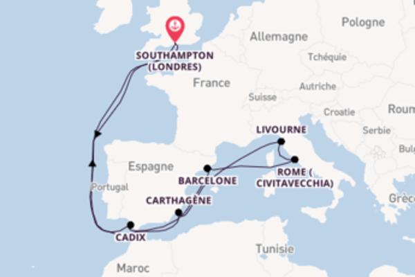 Merveilleuse balade de 15 jours pour découvrir Carthagène