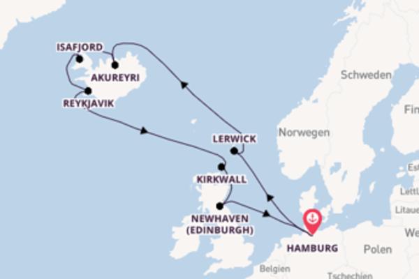 Erleben Sie Reykjavik auf der MSC Preziosa