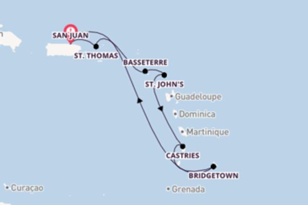 Ga mee op de Freedom of the Seas naar San Juan