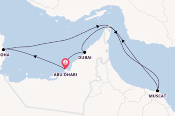 Bellissimo viaggio di 10 giorni verso Abu Dhabi