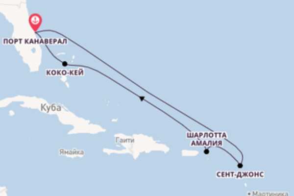 Захватывающий вояж с Royal Caribbean