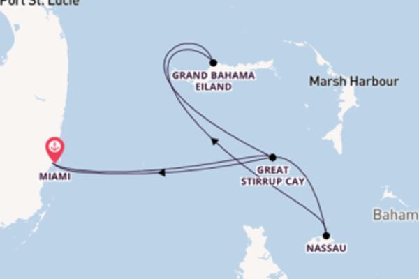 6-daagse cruise vanaf Miami