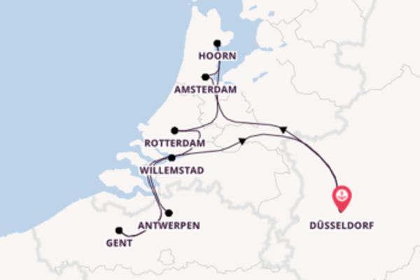 In 11 dagen naar Düsseldorf