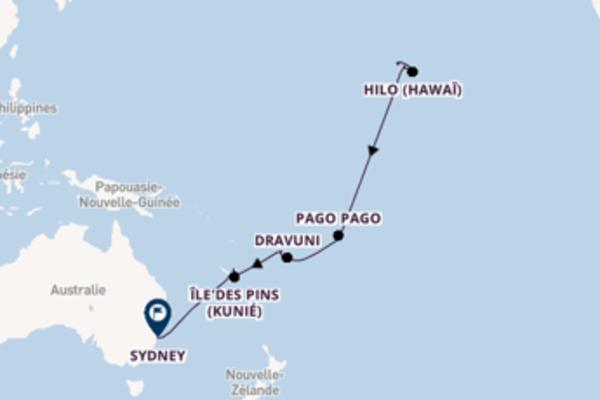 Admirez à bord du bateau Oosterdam, la destination: Lahaina