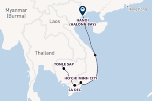 Magnificent voyage from Siem Reap with CroisiEurope