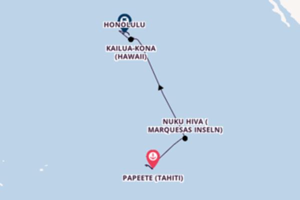 Erkunden Sie 15 Tage Bora Bora und Honolulu