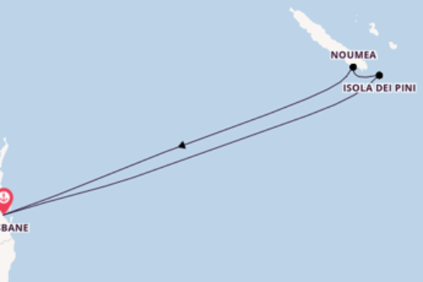 Inebriante viaggio da Brisbane verso Isola dei Pini