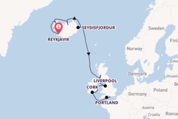 Expedition from Reykjavik with the Norwegian Star