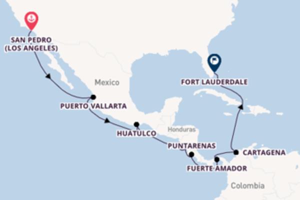 A bordo di Coral Princess fino a Fort Lauderdale