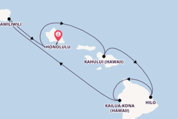 Entdecken Sie Kailua-Kona, Hawaii auf der Pride of America