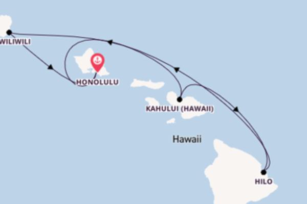 8 Tage Hawaii Kreuzfahrt