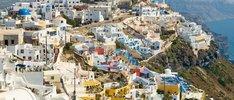 Griechische Inseln mit Türkei und Kroatien