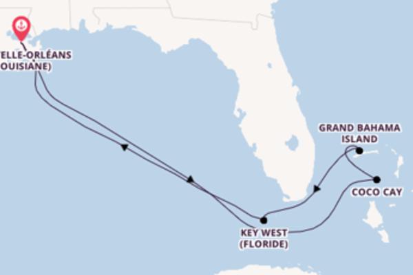 Étonnante balade de 8 jours pour découvrir Grand Bahama