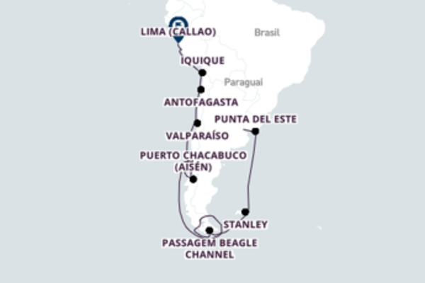 22 dias navegando a bordo do Azamara Quest