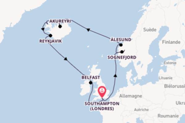 Étonnante balade de 15 jours pour découvrir Lustrafjorden