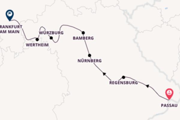 In 9 Tagen nach Frankfurt am Main