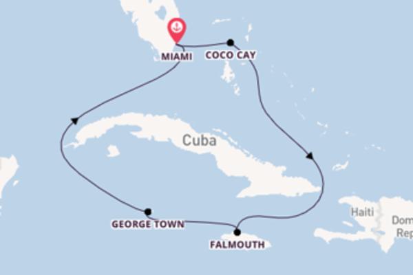 Cruise met Royal Caribbean naar Falmouth