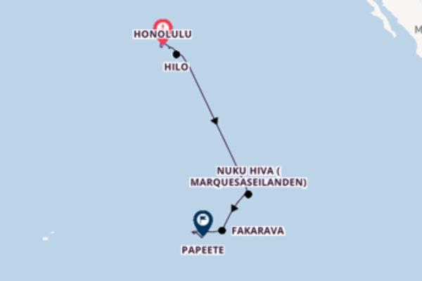 Bora Bora bewonderen met de Seven Seas Navigator