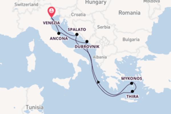 Viaggio di 8 giorni a bordo di MSC Opera